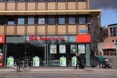 ICA Supermarket, Schweden stockfotos