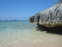 Icacos do cabo, Puerto Rico, do Cararibe Fotografia de Stock Royalty Free