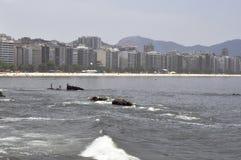 Icaraí Strand stockfoto