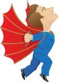 Icarus royalty-vrije illustratie