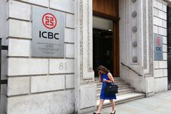 ICBC-Bank het UK Stock Fotografie