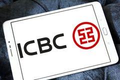 ICBC i Commercial Bank Porcelanowy logo, Przemysłowy Zdjęcia Stock