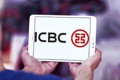 ICBC i Commercial Bank Porcelanowy logo, Przemysłowy Obraz Royalty Free