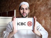 ICBC i Commercial Bank Porcelanowy logo, Przemysłowy Zdjęcie Royalty Free
