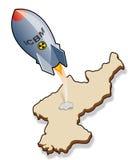 ICBM de entrada Ilustração Royalty Free
