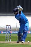 ICC冠军战利品准备比赛印度v澳大利亚 库存照片
