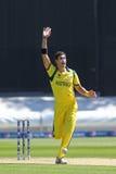ICC冠军战利品准备比赛印度v澳大利亚 库存图片