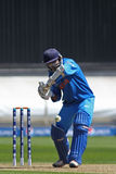 ICC冠军战利品准备比赛印度v澳大利亚 免版税库存照片