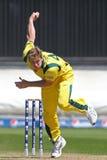 ICC冠军战利品准备比赛印度v澳大利亚 图库摄影