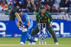 ICC冠军战利品印度v巴基斯坦 免版税库存照片