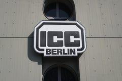 ICC柏林标志 免版税库存照片