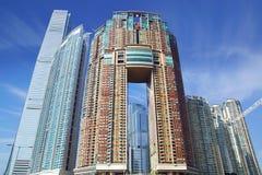 ICC, Harbourside和曲拱(月亮塔)。 免版税图库摄影