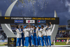ICC Champions Trophy Final England v India Stock Photography