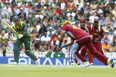 ICC Champions Trophy Pakistan v West Indies Stock Photo