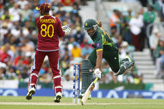 ICC Champions Trophy Pakistan v West Indies Royalty Free Stock Photo