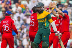 ICC Champions Trophy Semi Final England v South Africa Royalty Free Stock Photos