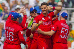 ICC Champions Trophy Semi Final England v South Africa Stock Photography
