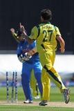 ICC Champions Trophy Warm Up Match India v Australia Royalty Free Stock Image