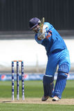 ICC Champions Trophy Warm Up Match India v Australia Stock Images