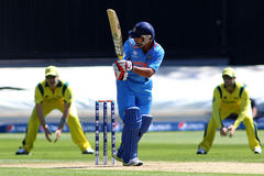 ICC Champions Trophy Warm Up Match India v Australia Stock Image