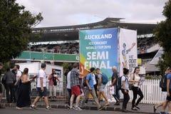 ICC Cricket World Cup 2015 Mengen-Halbzeuge NZA gegen RSA Stockfotografie