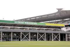 ICC Cricket World Cup 2015 Venue Eden Park Stadium Stock Photo