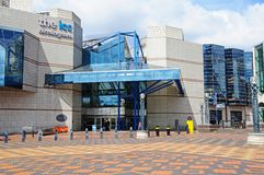 ICC entrance, Birmingham. Royalty Free Stock Photo