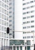 ICC het Internationale Misdadige Hof van de Ingang Stock Fotografie