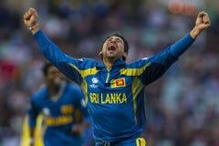 ICC mästaretrofé Sri Lanka och Australien Arkivfoton