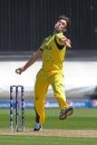 ICC mistrza trofeum Grże Up Zapałczanego India v Australia Zdjęcie Stock