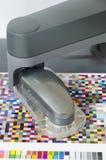 Icc profilo, robot dello spettrofotometro Immagini Stock