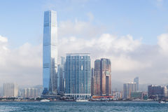 ICC Tower in Hong Kong Royalty Free Stock Photography