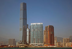 ICC Tower, Kowloon, Hongkong Royalty Free Stock Photos