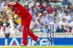 ICC trofeo Inglaterra semi final v Suráfrica de los campeones Imágenes de archivo libres de regalías