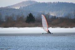 ice 1 łyżwiarstwo ruchome Fotografia Royalty Free