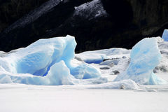 Ice. Patagonia, Argentina Royalty Free Stock Photos