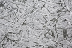 Ice. Crack ice in the all photo royalty free stock image