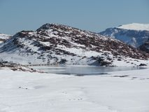 Ice湖 库存图片