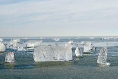 Ice. Royalty Free Stock Images