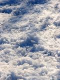 Ice. Pieces of ice covers the ground in winter Stock Photography