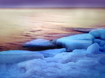 Ice. Floe royalty free stock images