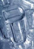 Ice Abstract Stock Photo