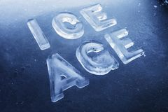 Ice Age Royalty Free Stock Photography