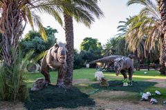 Ice Age and Dinosaurs exhibition Stock Photography