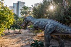 Ice Age and Dinosaurs exhibition Stock Images