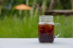 Ice Americano coffee. Stock Photography