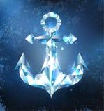Ice anchor Royalty Free Stock Photo