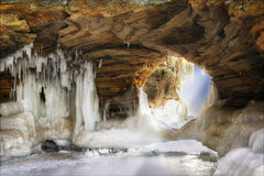 Ice Arch Royalty Free Stock Photo