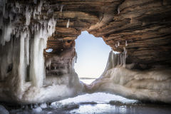 Ice Arch Stock Image