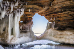 Ice Arch Stock Images